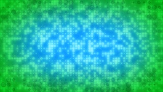 Blue Green Circle Spots