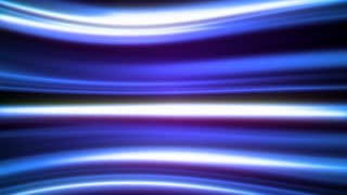 Blue Horizontal Light Effect