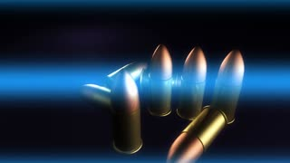 Blue Light Through Bullets