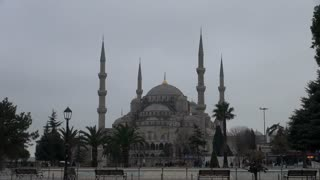 Blue Mosque Istanbul Zoom to Dome