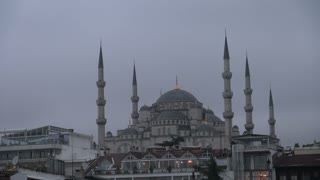 Blue Mosque Zoom to Dome 2