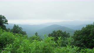 Blue Ridge Mountain Range