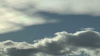 Blue Sky Dramatic Cloud Timelapse