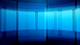 Blue Square Background Set