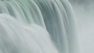 Blurred Niagara Falls Water Flow