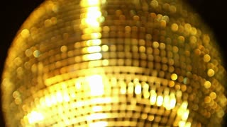 Blurry Disco Ball Spinning