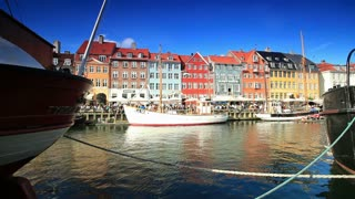 Boat Harbor in Copenhagen, Denmark 2
