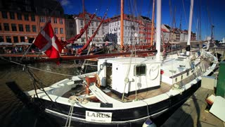 Boat Harbor in Copenhagen, Denmark 4