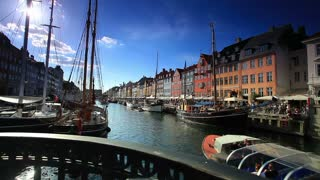 Boat Harbor in Copenhagen, Denmark 6
