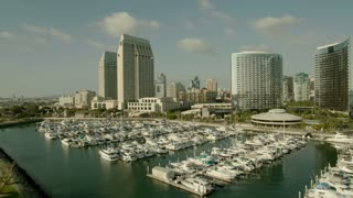 Boat Harbor Push To San Diego City View