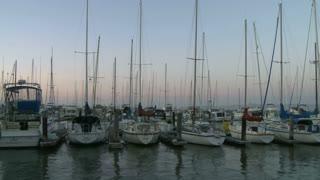Boats Docked Timelapse