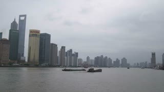 Boats Floating by in Shanghai China 5