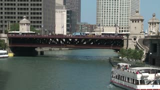 Boats On Chicago River 2