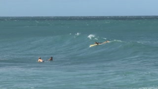 Body Surfing in the Bright Blue Pacific Ocean 2