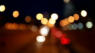 Bokeh Car Lights