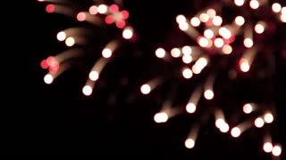 Bokeh Firework Explosions