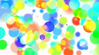 Bokeh Rainbow Circles