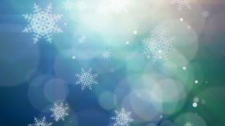 Bokeh Snowflakes