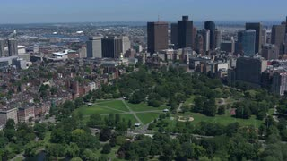 Boston Commons, Aerial Fly Over