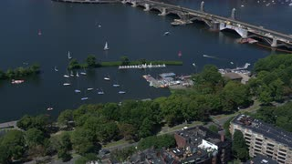 Boston Marina Aerial View