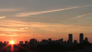 Boston Time Lapse Sunrise