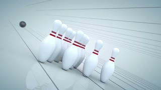 Bowling Ball Animation Strike