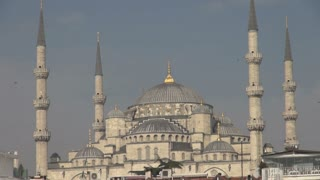 Breathtaking Blue Mosque in Bright Sunshine