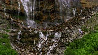 Bridal Veil Falls in Provo, Utah 13