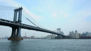 Bridge In New York City Water Timelapse