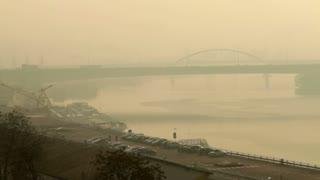 Bridge Off Romanian Coast