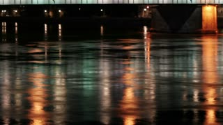 Bridge Water Lights