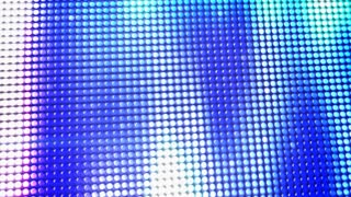 Bright Abstract Patterned Screen