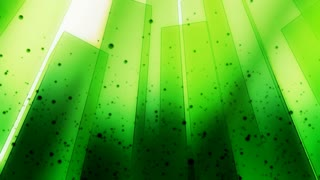 Bright Lime Green Rectangle Wall