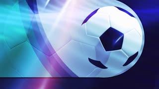 Bright Soccer Banner