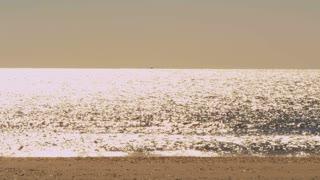 Bright Sun Ocean Glimmer