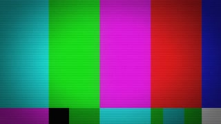 Broken Video Color Bars