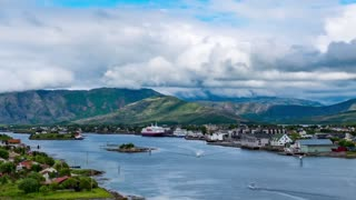Bronnoysund, Beautiful Nature Norway timelapse