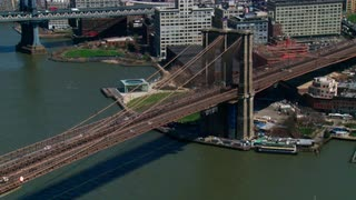Brooklyn Bridge Aerial Shot