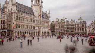 Brussels Belgium Time Lapse