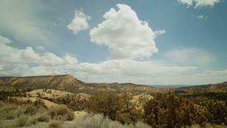 Bryce Canyon National Park desert landscape timelapse