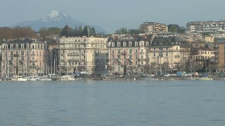 Buildings on Lake Geneva 2