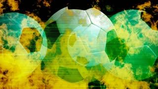 Buring Soccer Balls