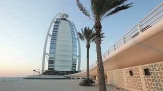 Burj Al Arab Hotel, Dubai, United Arab Emirates, Middle East,