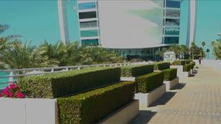 Burj Al Arab Hotel Tilt