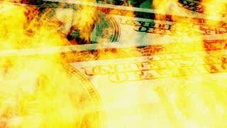Burning Dollar Bills 2