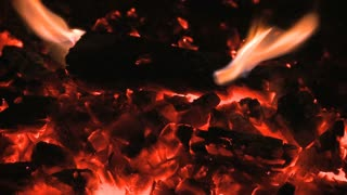 Burning Embers Timelapse