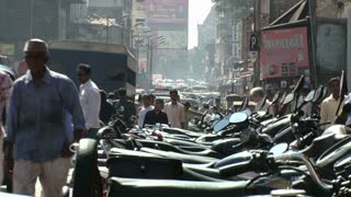 Bustling City of Pune India