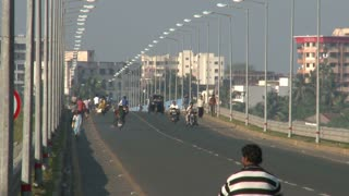 Busy Bridge in Daman India