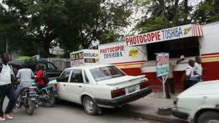 Busy Street Scene Port-au-prince Haiti