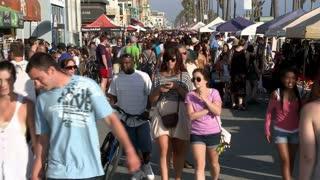 Busy Venice Beach